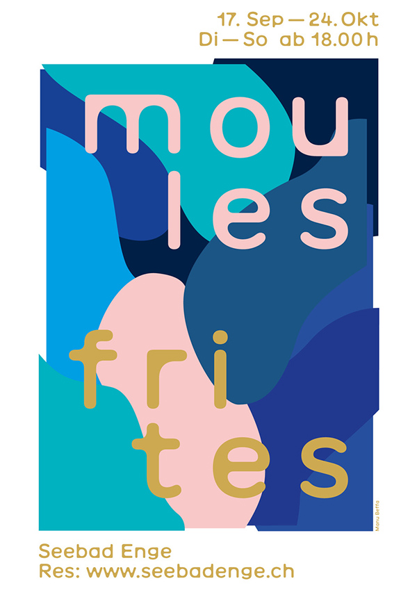 Moules Frites im Seebad