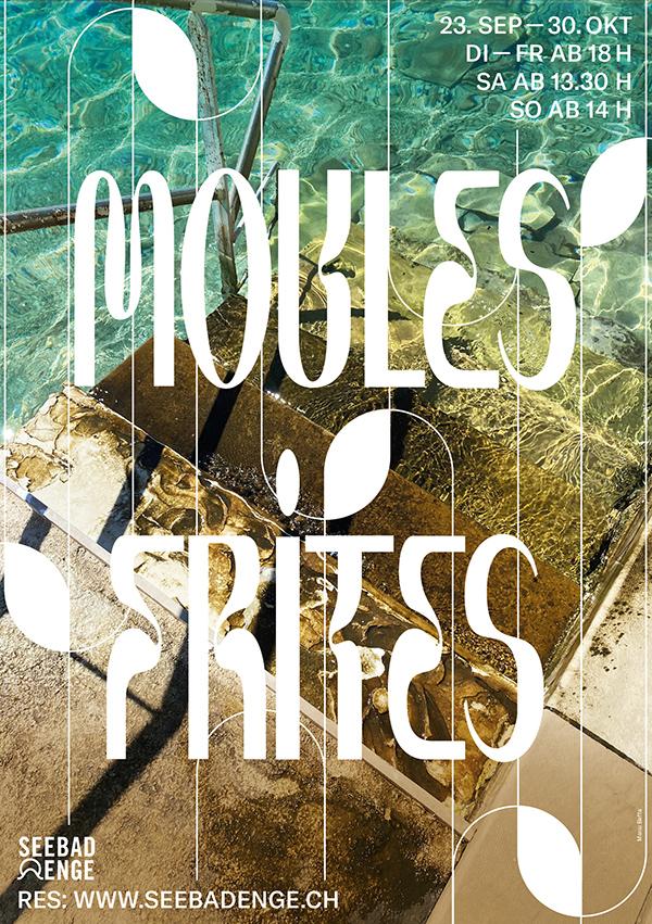 Moules Frites im Seebad Enge